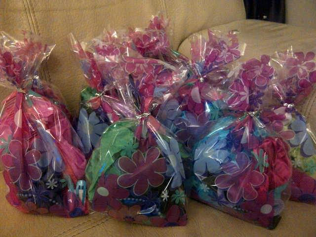 Pamper Queens Pamper Parties - Party Bags