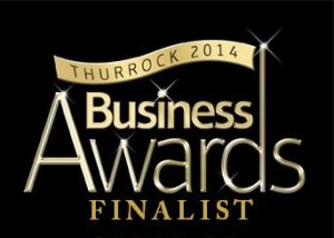 PAMPER QUEENS THURROCK BUSINESS AWARDS FINALIST 2014